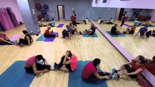 видео Групповая тренировка Low body power с Внуковой Татьяной.