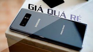 SOCK với mức giá của Galaxy Note8 chính hãng