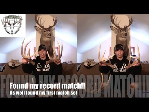 Shed hunting: Found the match to my biggest shed ever!!