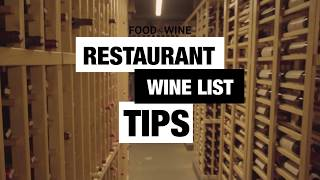 Ordering From a Restaurant Wine List A Pro | Bottle Service | Food & Wine