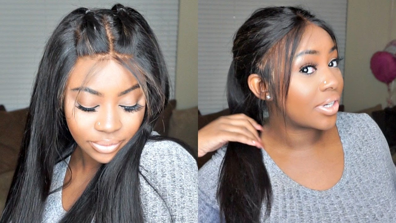 My First 360 Lace Frontal Wig  2454d9b941