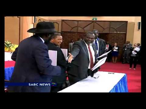 S Sudan president set to sign peace deal