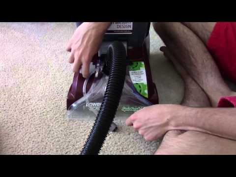 Hoover Power Scrub Deluxe Attachment Cleaning