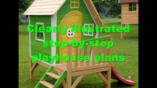 How To Build A Children's Playhouse | Treehouses For Kids