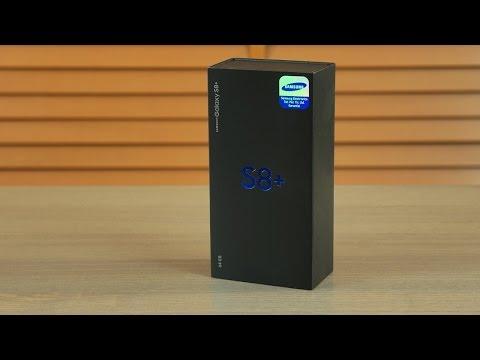 Samsung Galaxy S8 Plus kutu açılışı