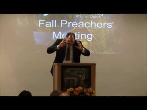 FWBC 2016 Fall Preachers' Meeting Evangelist Paul Abbott