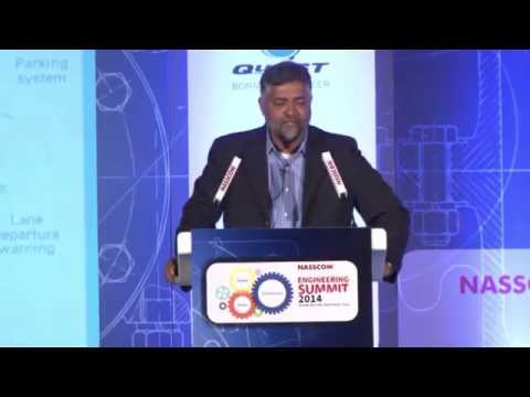 NASSCOM Engineering Summit 2014: Session VI: Automotive electronics: Driving roads to the future