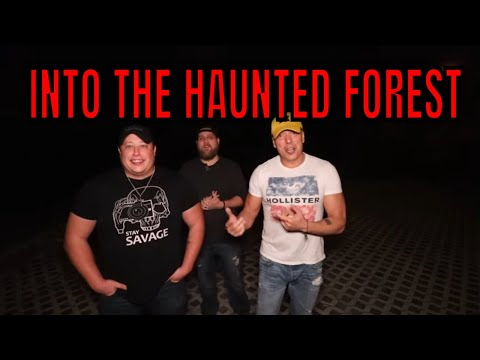 (HAUNTED FOREST) HAVING FUN, WALKING THE LINE. LOSING OUR MINDS, WHAT HAPPENED HERE?