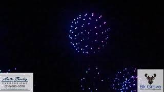 Drone show at Intel in Folsom