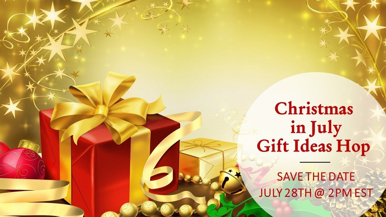 Christmas In July Wedding.Christmas In July Gift Ideas Youtube Hop Save The Date