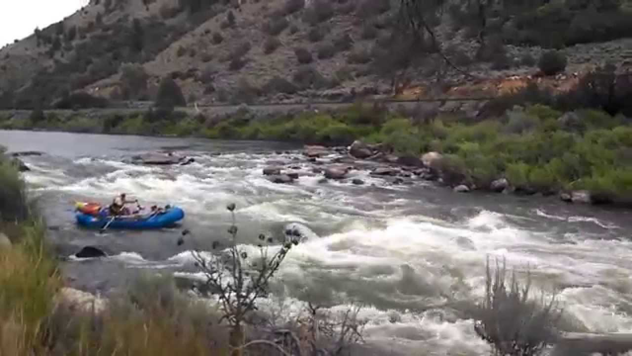 Upper Colorado River Rodeo Rapids Mark Stewart On The