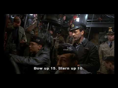 Das Boot - Emergency dive scene