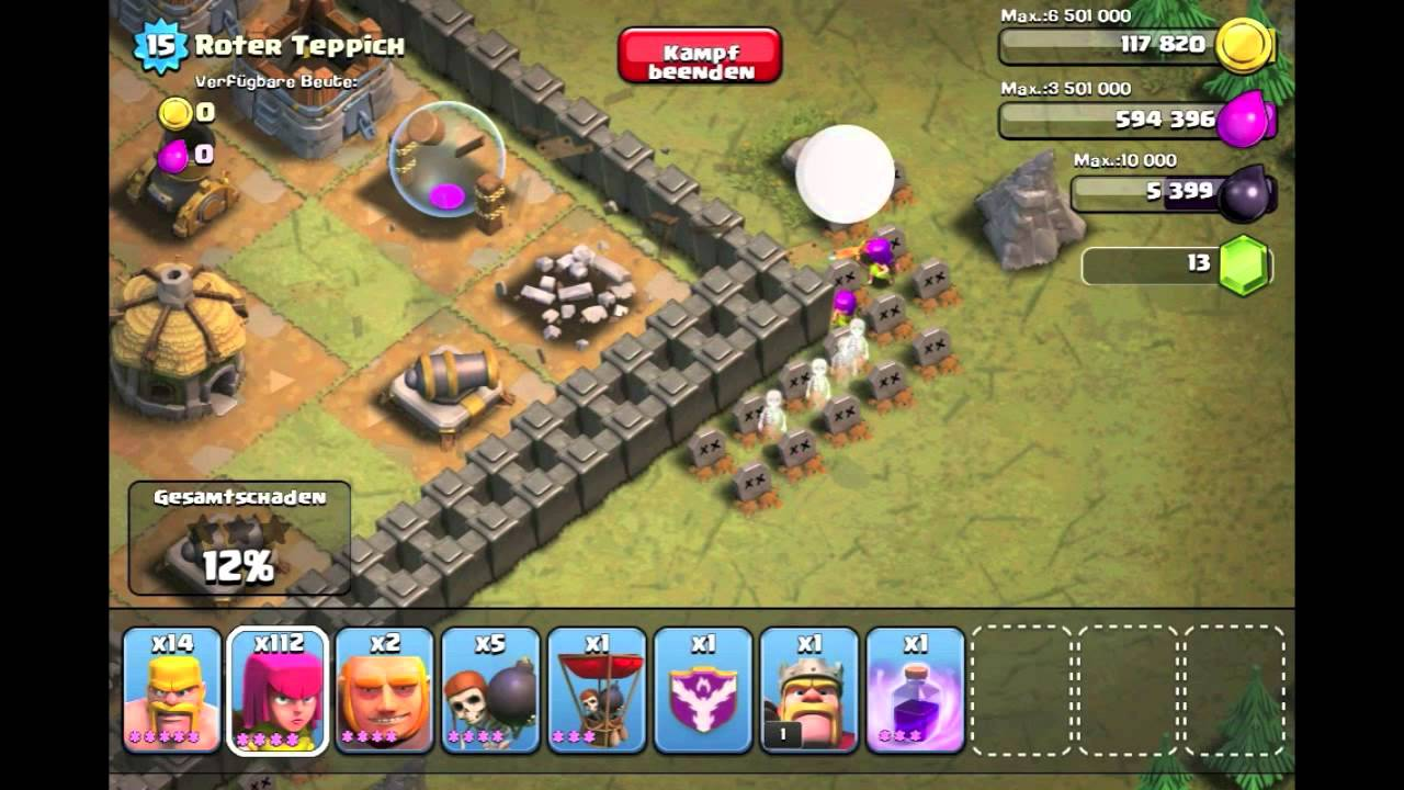 Coc Roter Teppich Level 29 Roter Teppich Clash Of Clans Einzelspieler