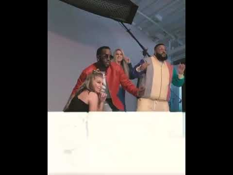 WATCH DJ KHALID, P DIDDY, TAYLOR SWIFT AND MEGAN TRAINOR DANCE TO BURNA BOY( LIKE TO PARTY)