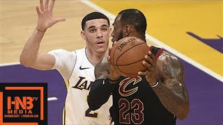 Cleveland Cavaliers vs Los Angeles Lakers Full Game Highlights / March 11 / 2017-18 NBA Season thumbnail