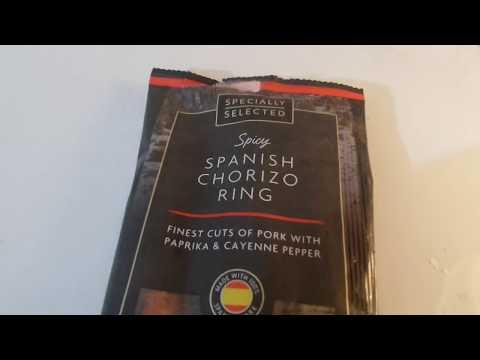 20200219 ALDI Spanish Chorazo Ring Колечко колбасы Испанский чоризо Buy In UK England