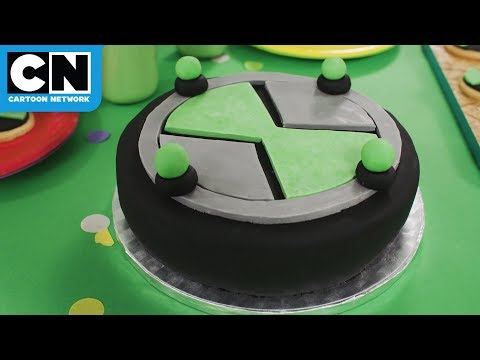 Ben 10 | Omnitrix Cake Tutorial | Cartoon Network