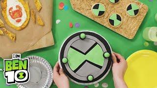 Ben 10 | Omnitrix Cake Tutorial | Cartoon Network
