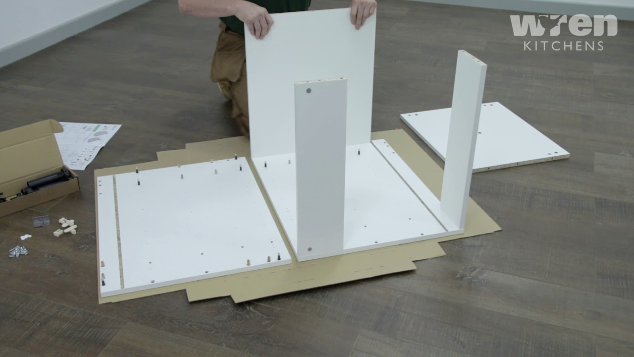 600mm Appliance Housing Base Unit Assembly - YouTube