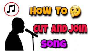 How to cut and join mp3 song with pranav