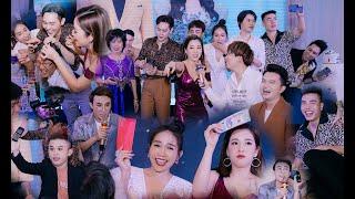 Game cực lầy Huỳnh Lập, Puka, Khả Như, Dương Lâm quậy nát đám cưới Trà Ngọc, Tống Hạo Nhiên