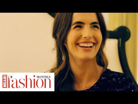 Behind the s of our HFM cover shoot with actress Camilla Belle