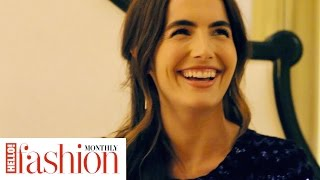 Behind the scenes of our #HFM cover shoot with actress Camilla Belle