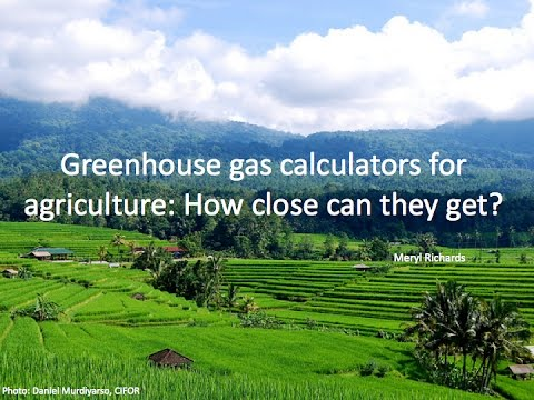 Greenhouse Gas Calculators: How Good Can They Get?