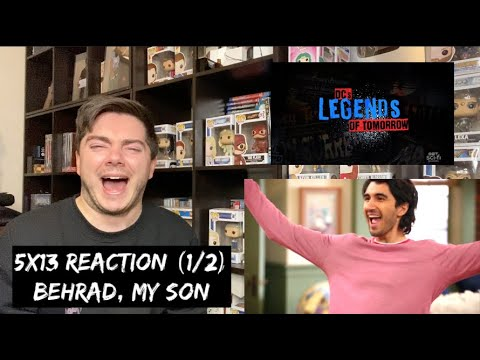 LEGENDS OF TOMORROW - 5x13 'THE ONE WHERE WE'RE TRAPPED ON TV' REACTION (1/2)