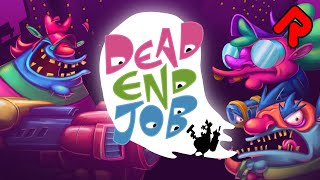Hilarious Ghostbusting Roguelite! | DEAD END JOB gameplay (PC)