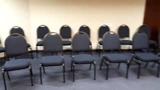 Sala de Treinamento no Flat Fortune, em São Paulo, dia 27/09/19 (por Rita De' Carli)