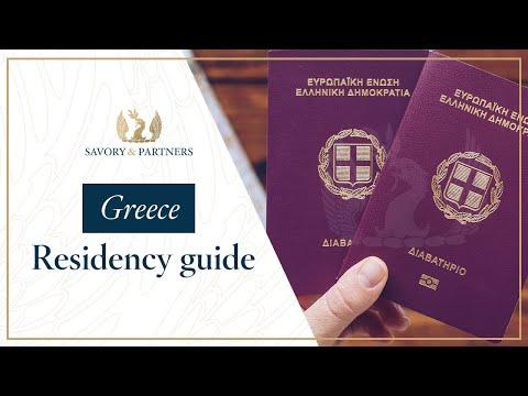 Greece Golden Visa/Residency by Investment Program Guide - Savory & Partners