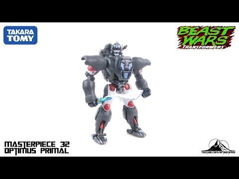 TakaraTomy Transformers MP-32 Masterpiece OPTIMUS PRIMAL Video Review