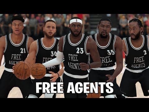 What If The Top 15 NBA Players Went Into Free Agency? | NBA 2K19