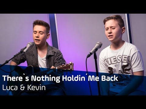 There's Nothing Holdin' Me Back | Shawn Mendes Cover | Luca & Kevin | ANTENNE BAYERN