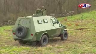 Oklopno vozilo domaće proizvodnje Palanca Negra– Emisija SAT 20.03.2016.