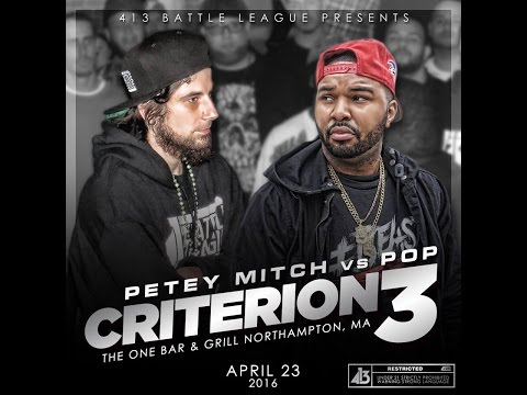 413 Battle League - Pop vs Petey Mitch