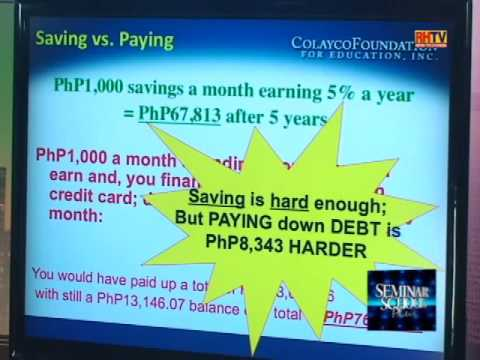 Seminar School Plus: Credit Cards - Baby Steps To Get Out Of Debt