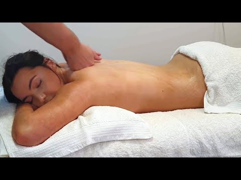 [ASMR] Best Ever 30 Min Back Massage For Relaxation [No Talking][No Music]