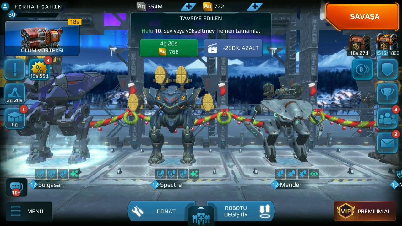 War Robots Arkadaş Ekleme / Arkadaşla Oynama.!!