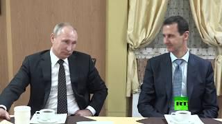 بالفيديو| بشار الأسد يشيد بـ