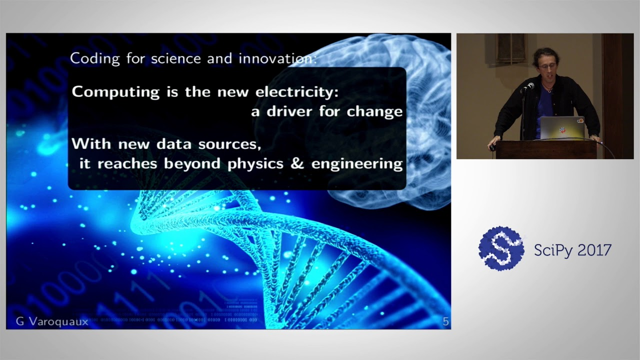 Image from Keynote - Coding for Science and Innovation