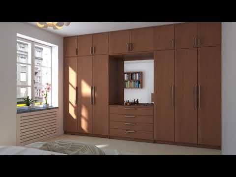 Modern Wardrobes Designs for Bedrooms in India