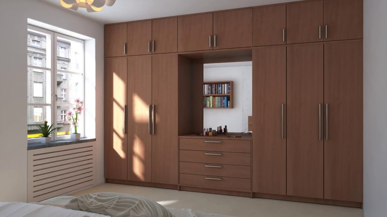 mesmerizing bedroom wardrobe designs | Modern Wardrobes Designs for Bedrooms in India - YouTube