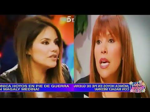 HOLA A TODOS 03/03/16 MONICA HOYOS ARREMETE CONTRA MAGALY POR TILDARLA DE † HUACHAFA † E † INTERESADA †