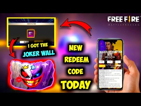 Free Fire New Redeem Code Today 2020 | September Free ...