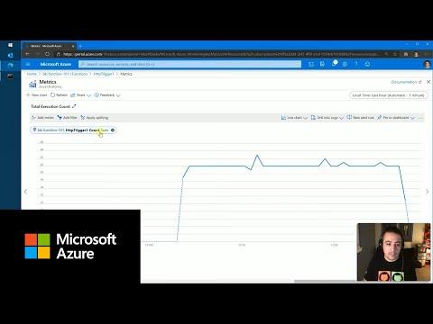 Abbildung eines YouTube-Videos zum Überwachen von Azure Functions