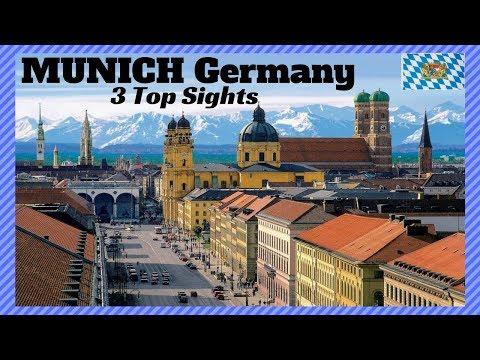 3 Top Sights of Munich Germany #Marienplatz Glockenspiel, Hofbräuhaus, Hofgarten
