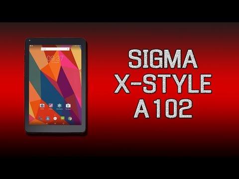 Хороший планшет за небольшие деньги! Обзор Sigma X-style Tab A102