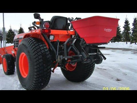 How to Convert a Spreader to Electric Motor & Mount toTractor DIY